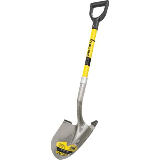 Truper Tru Pro 29 In. Fiberglass D-Handle Round Point Shovel