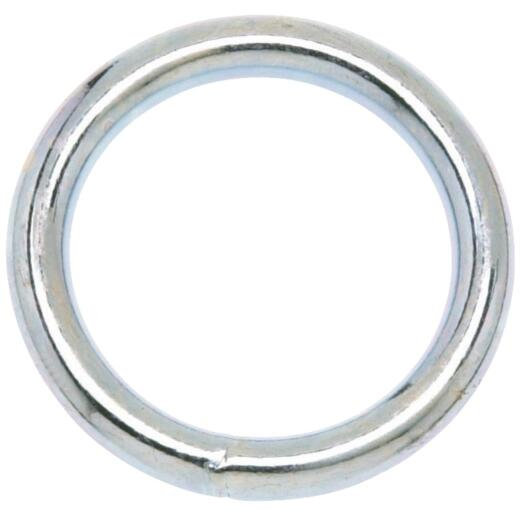 Campbell 1-1/4 In. Nickel-Plated Welded Metal Ring