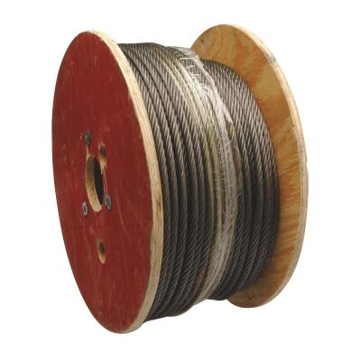 Campbell 5/16 In. x 500 Ft. Fiber Core Wire Cable