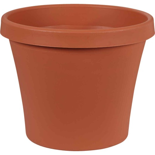 Bloem 8 In. Dia. Terracotta Poly Classic Flower Pot