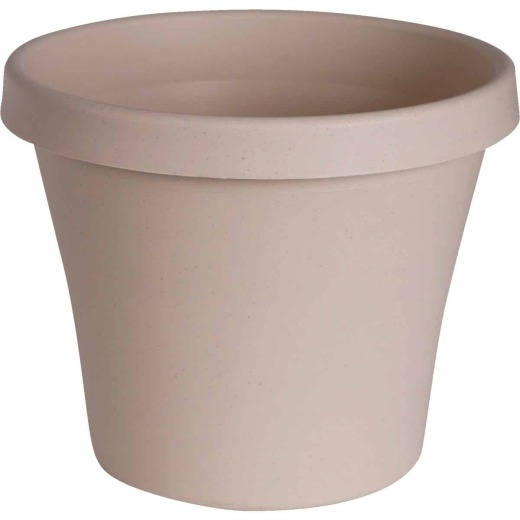 Bloem 8 In. Dia. Pebble Stone Poly Classic Flower Pot