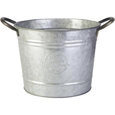 Panacea 8 In. Galvanized Steel Washtub Planter