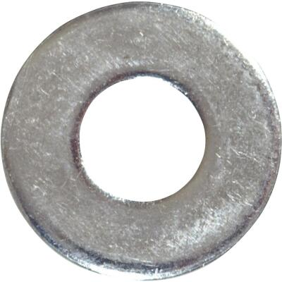 Hillman 1/4 In. Steel Zinc Plated Flat USS Washer (100 Ct.)