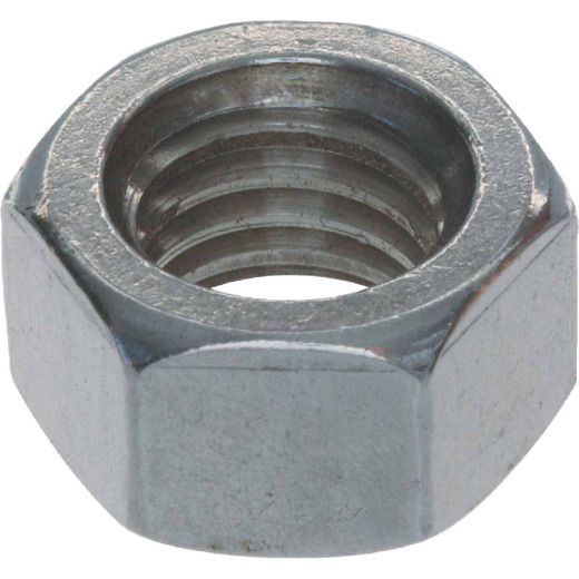 Hillman 1/4 In. 20 tpi Grade 2 Stainless Steel Hex Nuts (100 Ct.)