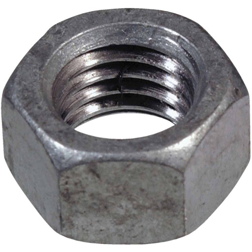 Hillman 5/16 In. 18 tpi Grade 2 Stainless Steel Hex Nuts (100 Ct.)