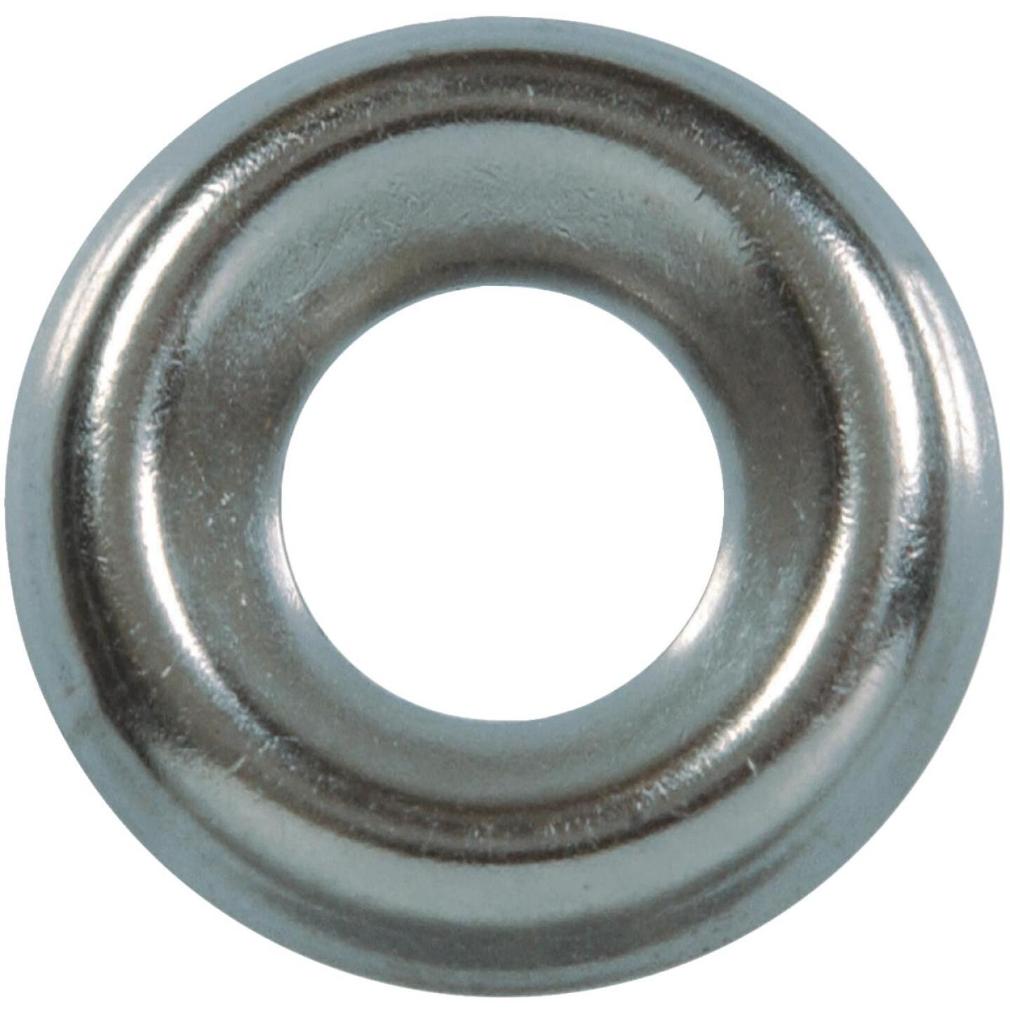 Hillman #8 Steel Nickel Plated Finishing Washer (10 Ct.) Image 1