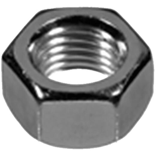 Hillman 1/4 In. 20 tpi Grade 2 Zinc Hex Nuts (100 Ct.)