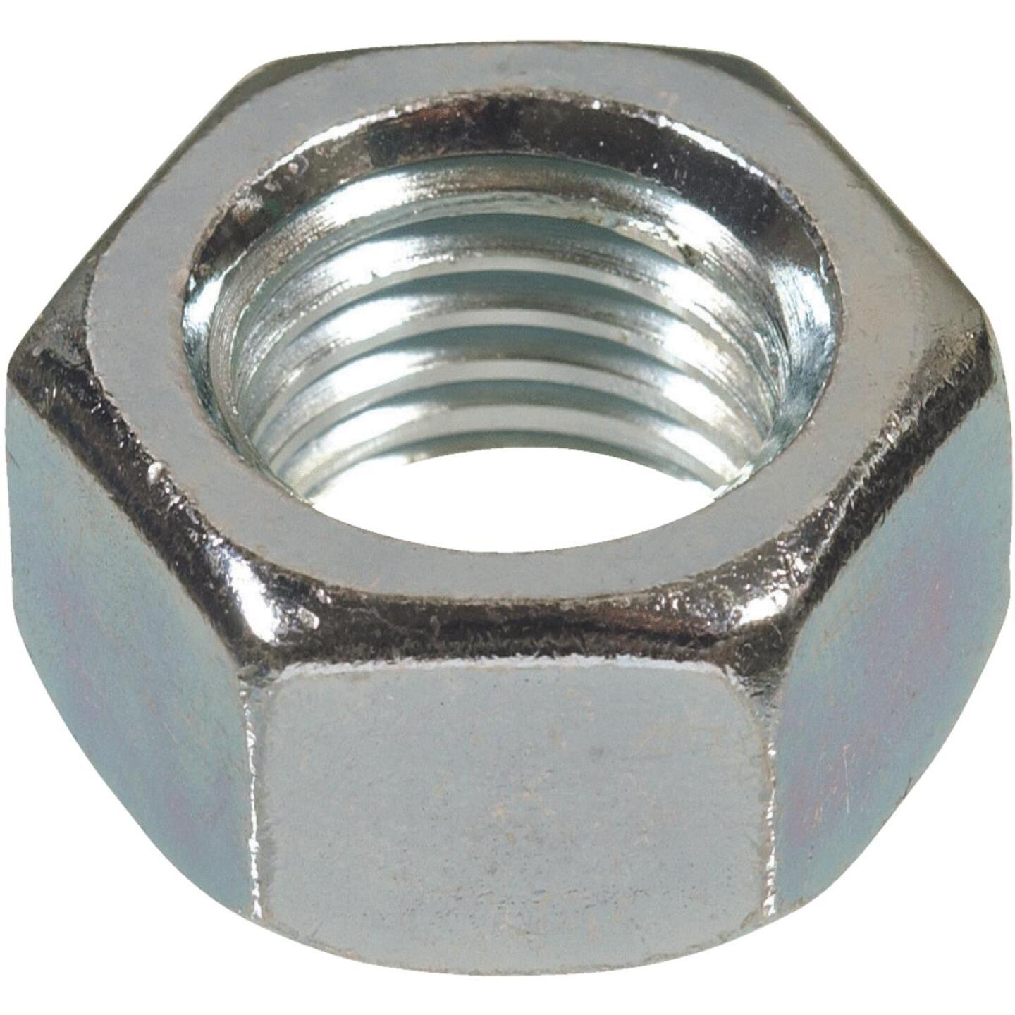 Hillman 7/16 In. 14 tpi Grade 2 Zinc Hex Nuts (50 Ct.) Image 1