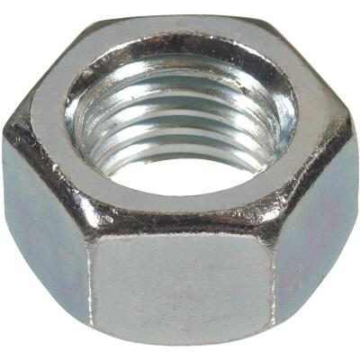 Hillman 1/2 In. 13 tpi Grade 2 Zinc Hex Nuts (50 Ct.)