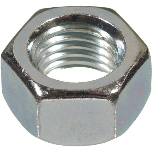 Hillman 9/16 In. 12 tpi Grade 2 Zinc Hex Nuts (50 Ct.)