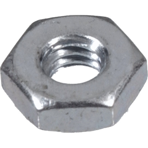Hillman #4 40 tpi Grade 2 Zinc Hex Machine Screw Nut (100 Ct.)