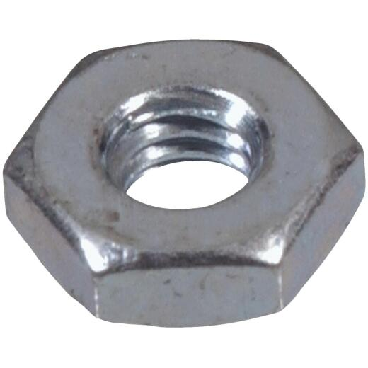 Hillman #6 32 tpi Grade 2 Zinc Hex Machine Screw Nut (100 Ct.)