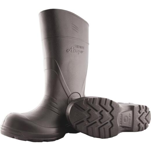 Tingley Airgo Men's Size 9 Black Rubber Boot