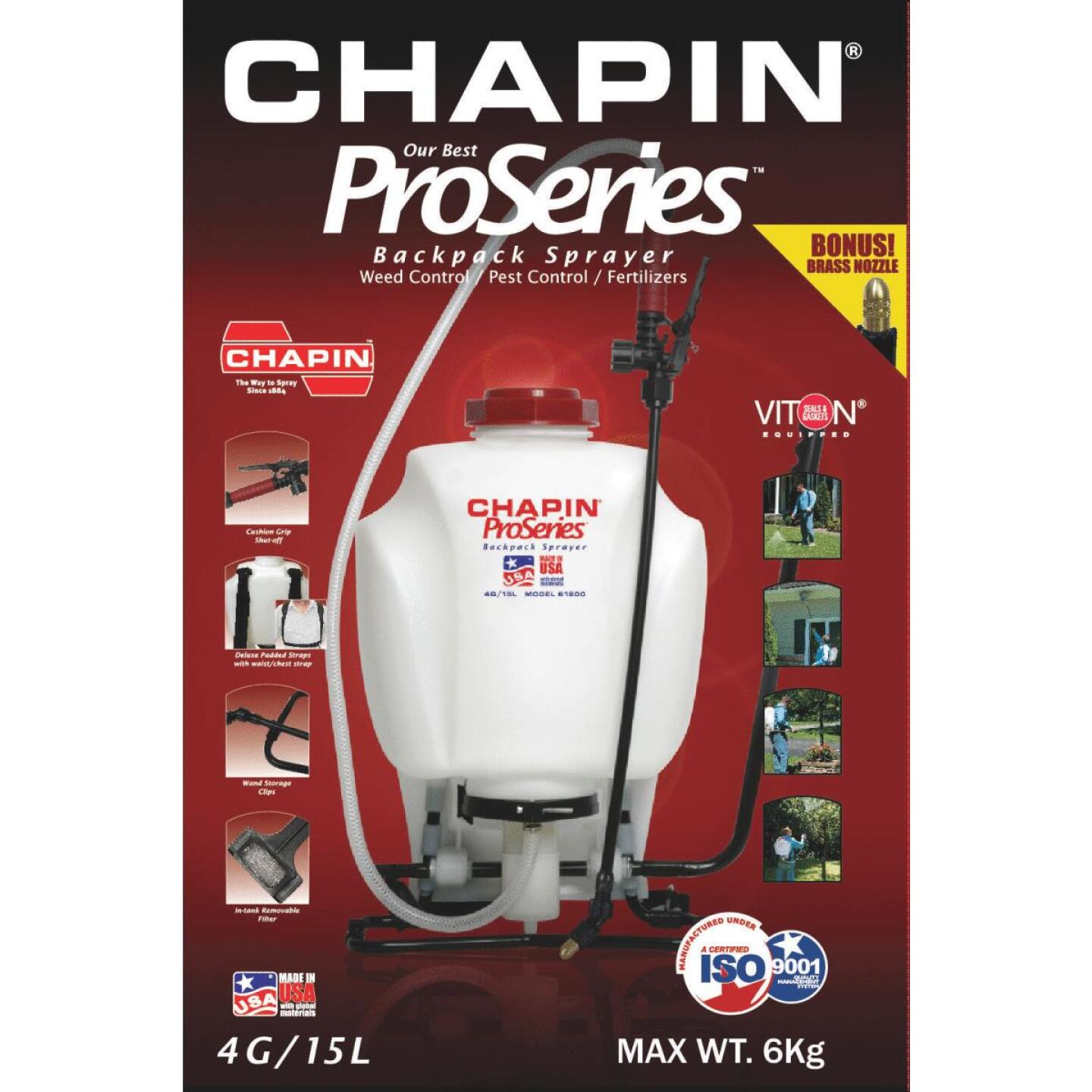 Chapin ProSeries 4 Gal. Backpack Sprayer Image 2