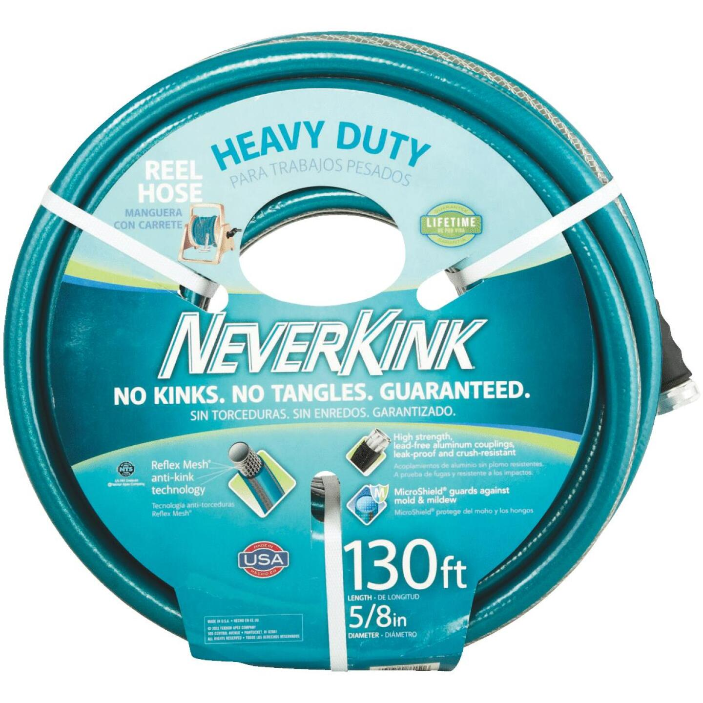 Neverkink 5/8 In. Dia. x 130 Ft. L. Heavy-Duty Garden Hose Image 1