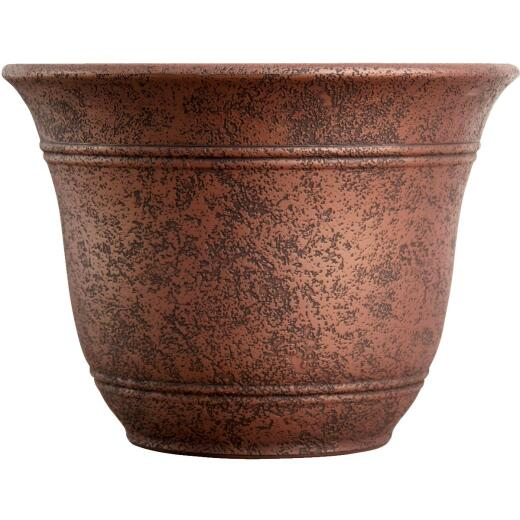 Listo Sierra 7.38 In. H. x 10 In. Dia. Rustic Redstone Poly Flower Pot