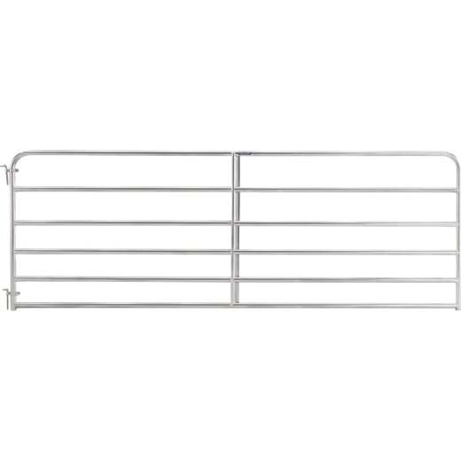 Tarter 50 In. H. x 4 Ft. L. x 1-3/4 In. Tube Diameter Galvanized Tube Gate