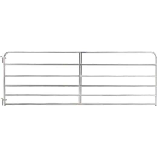 Tarter 50 In. H. x 14 Ft. L. x 1-3/4 In. Tube Diameter Galvanized Tube Gate