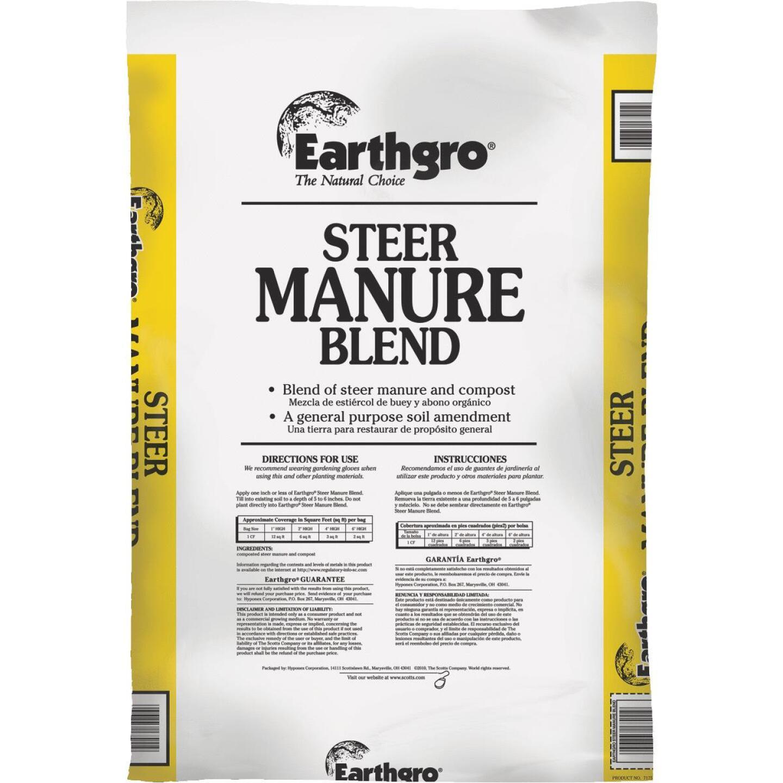 Earthgro 29 Lb. 1 Cu. Ft. 6 Sq. Ft. Coverage Steer Manure Image 1