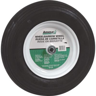 Arnold 16 x 480/400-8 In. Pneumatic Wheelbarrow Wheel with 3 In. Hub