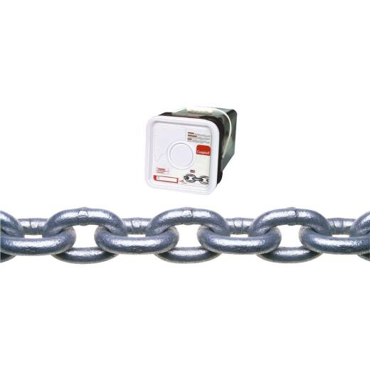 Campbell 3/16 In. 150 Ft. Galvanized Low-Carbon Steel Coil Chain
