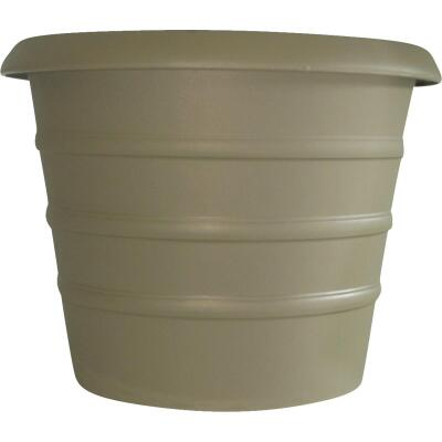 Myers Marina 6 In. Dia. Slate Green Poly Flower Pot