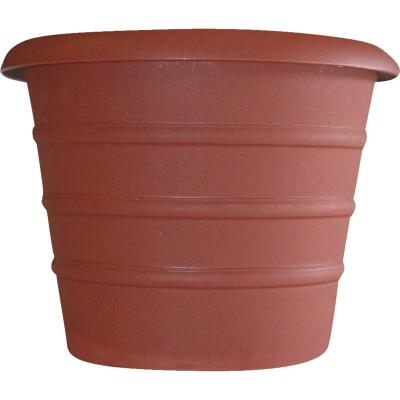 Myers Marina 16 In. Dia. Terracotta Poly Flower Pot