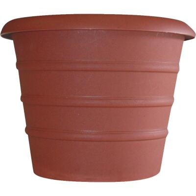Myers Marina 17-1/4 In. H. x 20 In. Dia. Terracotta Poly Flower Pot