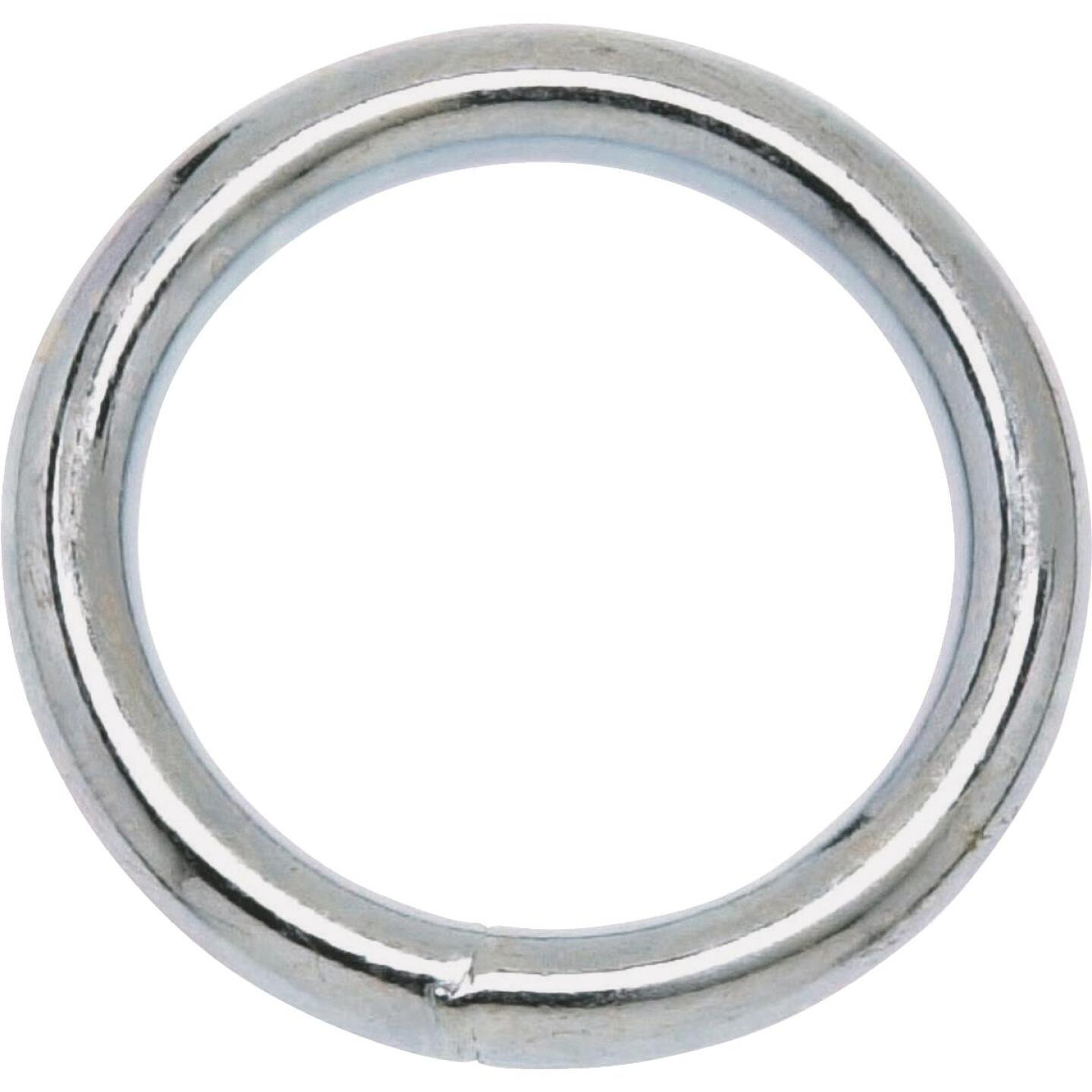 Campbell 2 In. Polished Solid Bronze Welded Ring Image 1