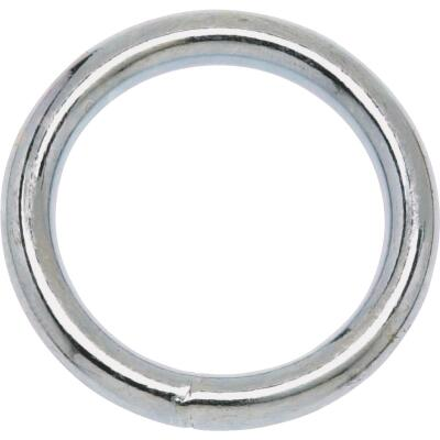 Campbell 1-1/8 In. Polished Solid Bronze Welded Ring