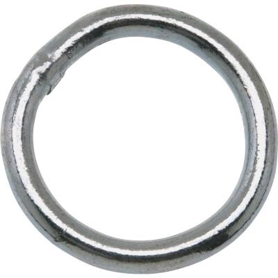 Campbell 1-1/4 In. Zinc-Plated Welded Metal Ring