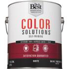 Do it Best Color Solutions 100% Acrylic Latex Self-Priming Flat Exterior House Paint, White, 1 Gal. Image 2