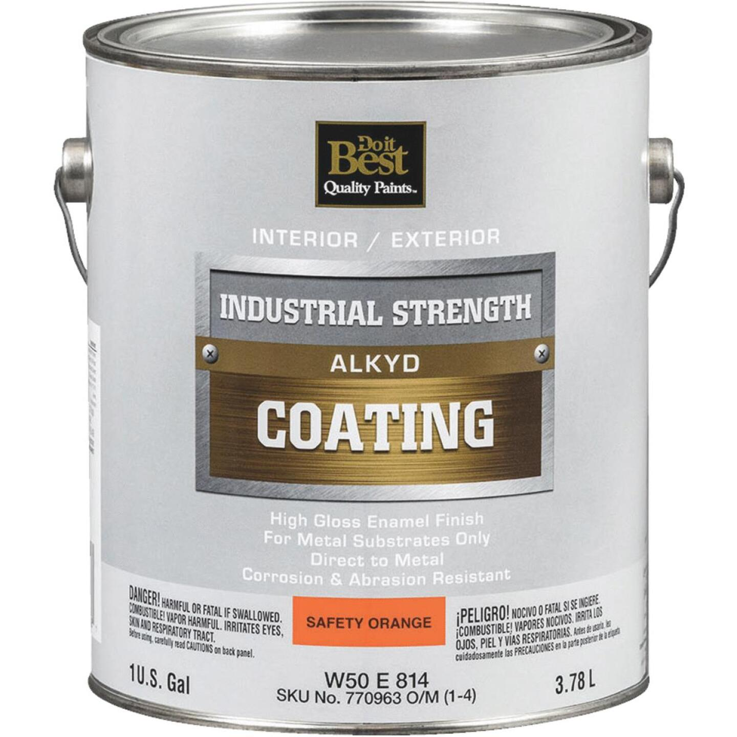 Do it Best Alkyd Industrial Coating, Safety Orange, 1 Gal. Image 1