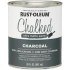 Rust-Oleum Chalked Charcoal Ultra Matte 30 Oz. Chalk Paint Image 1