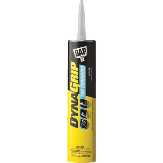 DAP DYNAGRIP 10.3 Oz. Tub Surround Construction Adhesive