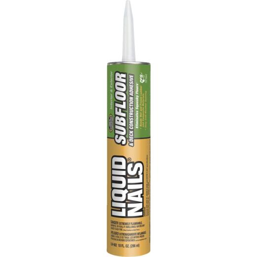 LIQUID NAILS 10 Oz. Subfloor & Deck Construction Adhesive