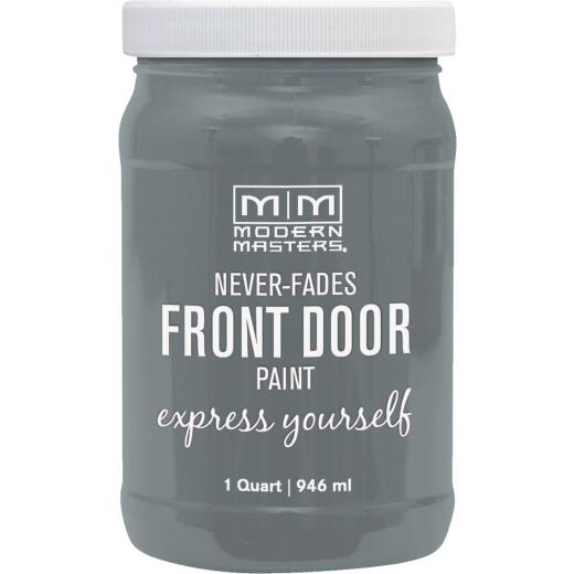 Modern Masters Acrylic Satin Front Door Paint, Mysterious, 1 Qt.
