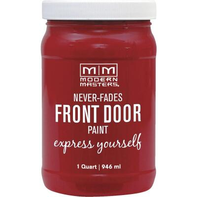 Modern Masters Acrylic Satin Front Door Paint, Sophisticated, 1 Qt.