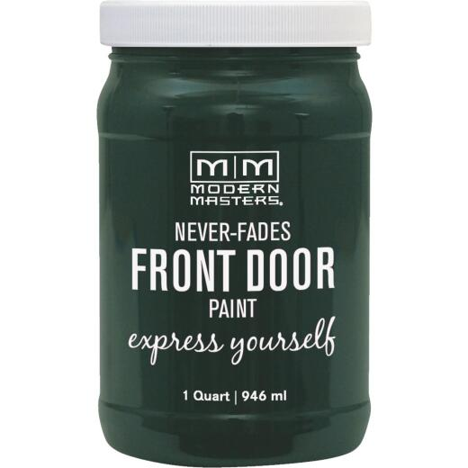 Modern Masters Acrylic Satin Front Door Paint, Successful, 1 Qt.