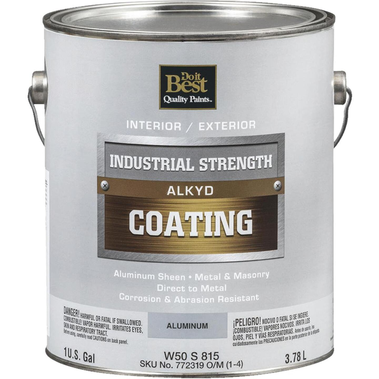 Do it Best Aluminum Alkyd Industrial Coating, 1 Gal. Image 1