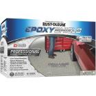 Rust-Oleum EPOXYSHIELD Semi-Gloss Professional Industrial Grade Floor Coating Kit, Silver Gray, 256 Oz. Image 1