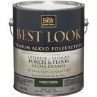 Best Look 1 Gal. Forest Green Polyurethane Gloss Porch & Floor Enamel Image 1