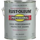 Rust-Oleum Professional Oil Based Gloss Protective Rust Control Enamel, Aluminum, 1 Gal. Image 1