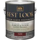 Best Look 1 Gal. Tile Red Polyurethane Gloss Porch & Floor Enamel Image 1