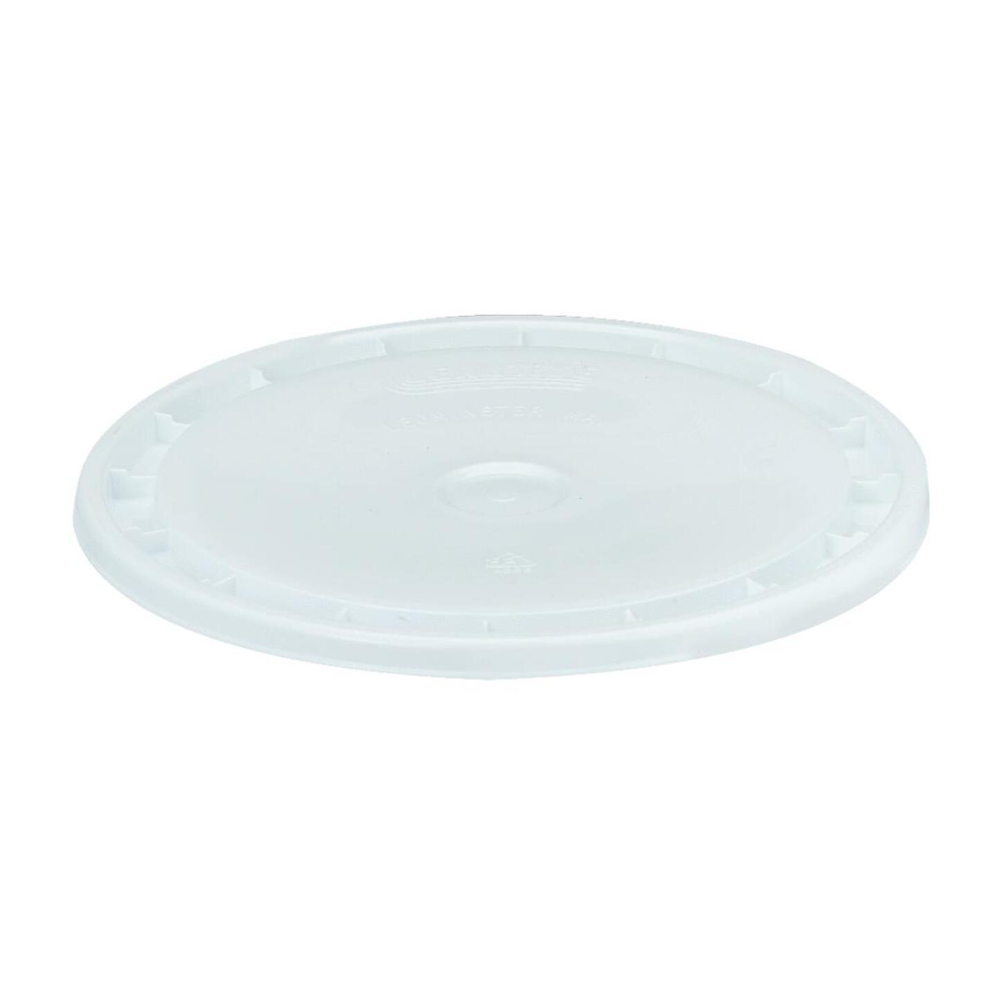 Leaktite Easy-Off 5 Gallon 12 in. x 1 in. White Lid Image 1
