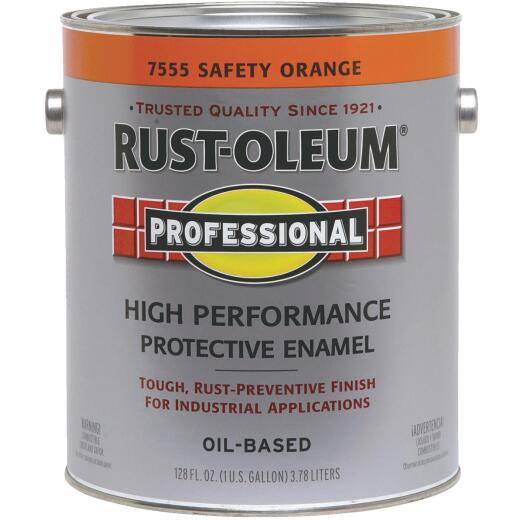 Rust-Oleum Professional Industrial Enamel, Safety Orange, 1 Gal.