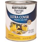 Rust-Oleum Painter's Touch 2X Ultra Cover Premium Latex Paint, Sun Yellow, 1 Qt. Image 1