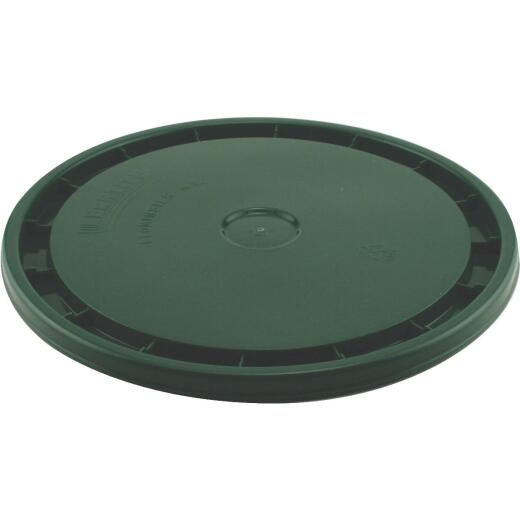 Leaktite 5 Gallon 12 in. x 1 in. Green Lid