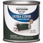 Rust-Oleum Painter's Touch 2X Ultra Cover Premium Latex Paint, Hunter Green, 1/2 Pt. Image 1