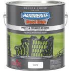 Hammerite Rust Cap Oil-Based Gloss Smooth Rust Control Enamel, White, 1 Gal. Image 1